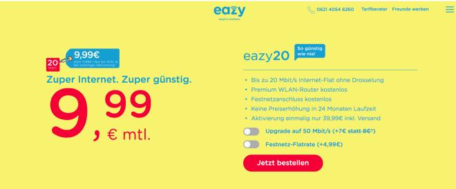 Unitymedia eazy.de
