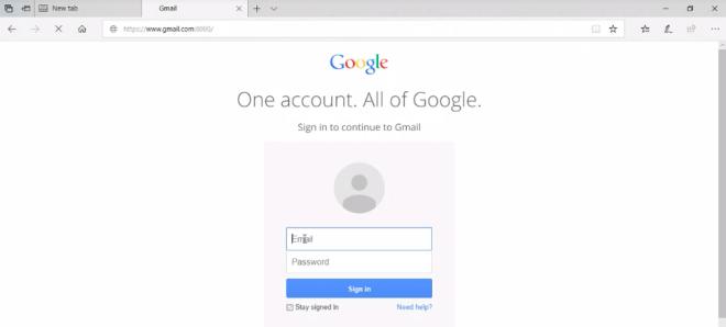 Edge: URL-Spoofing