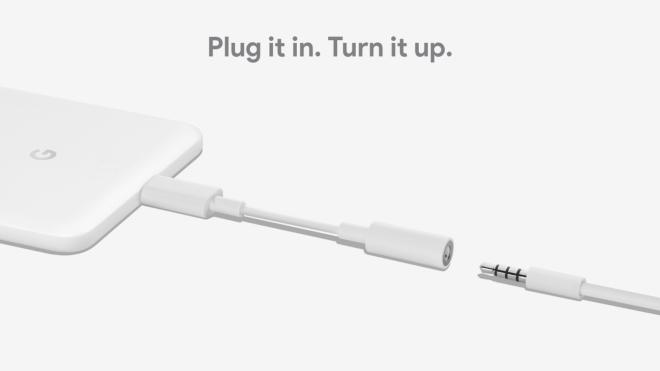 Google-Adapter: USB Type-C auf Klinke