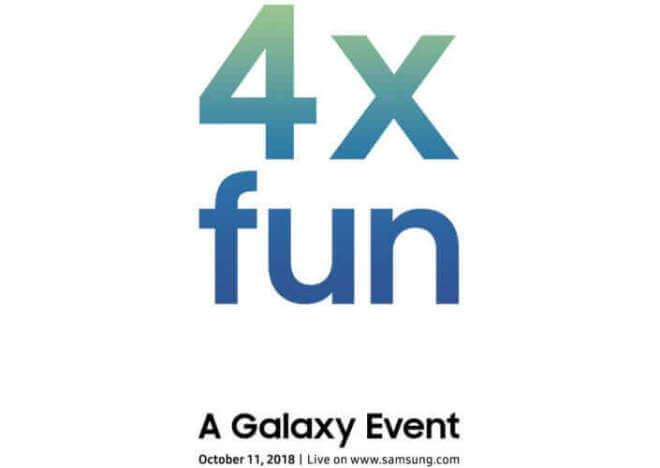 Samsung Einladung - A Galaxy Event