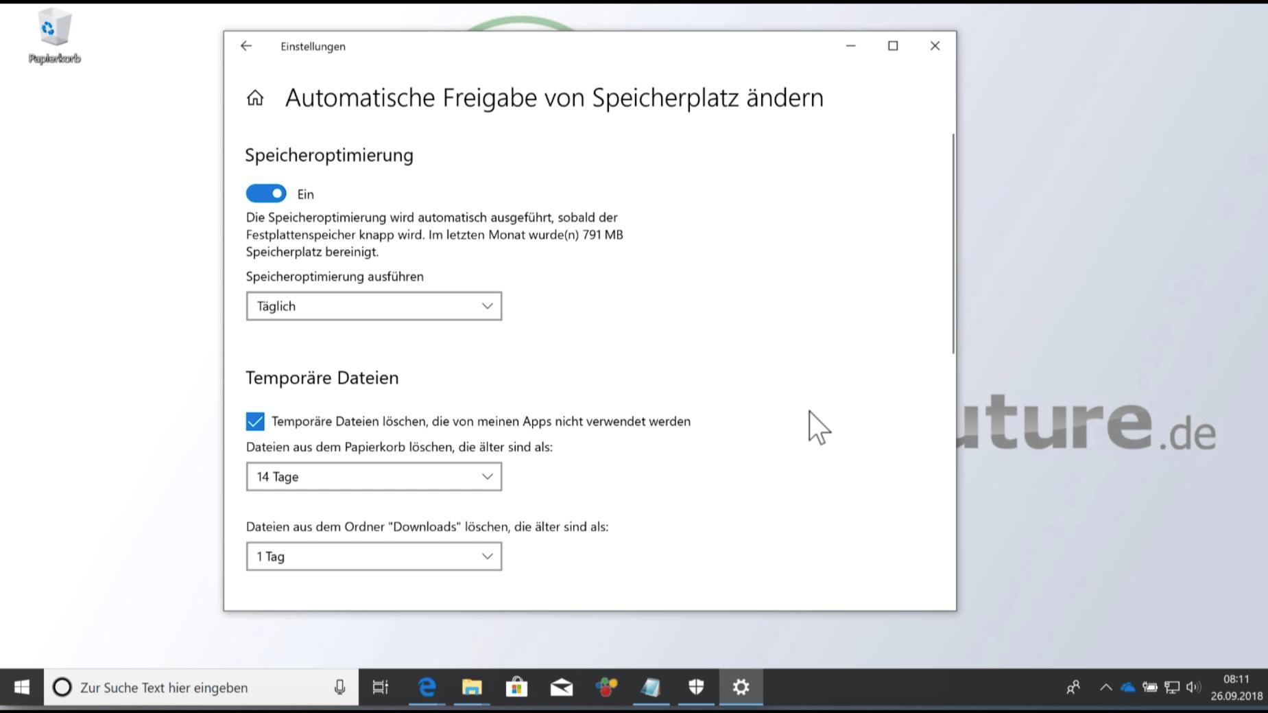 Windows 10 Oktober 2018-Update