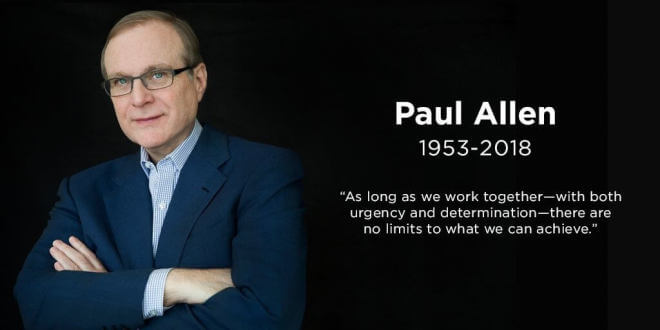Paul Allen: Microsoft-Mitgründer stirbt im Alter von 65 Jahren an Krebs