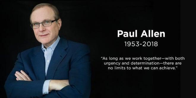 Microsoft-Mitgründer Paul Allen an Krebs gestorben
