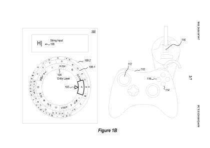 Microsoft Patent: radiales Textinterface