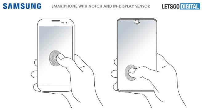 Samsung Galaxy S10 Fingerabdruck-Sensor