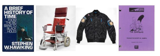 Stephen Hawking: Christie's Auktion