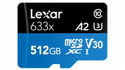 Lexar High-Performance 633x microSDXC UHS-I