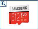 Samsung Evo Plus 512 GB MicroSD-Speicherkarte