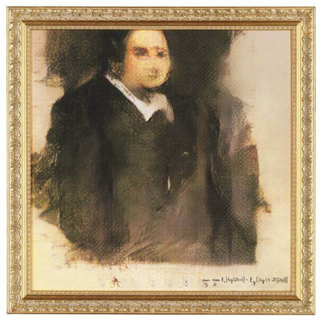 """Christie's: KI-Bild """"Edmond de Belamy"""""""