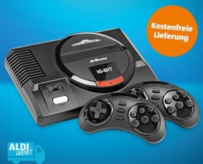 Aldi Angebot Gaming-Notebook und Retro-Konsole
