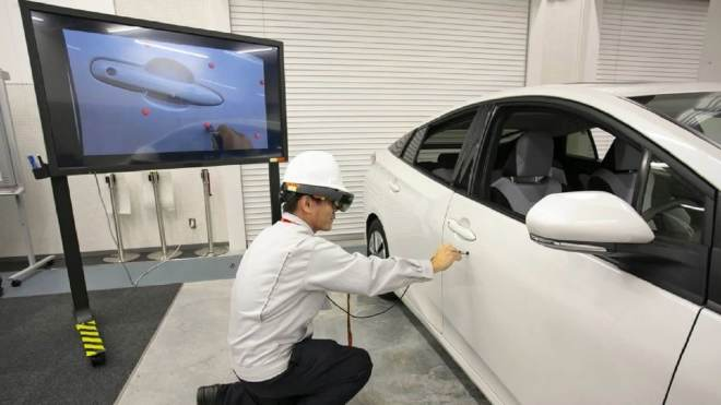 HoloLens bei Toyota