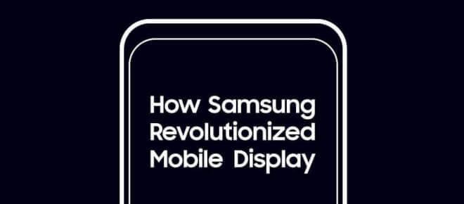 Samsung: Entwicklung neuer Smartphone-Display