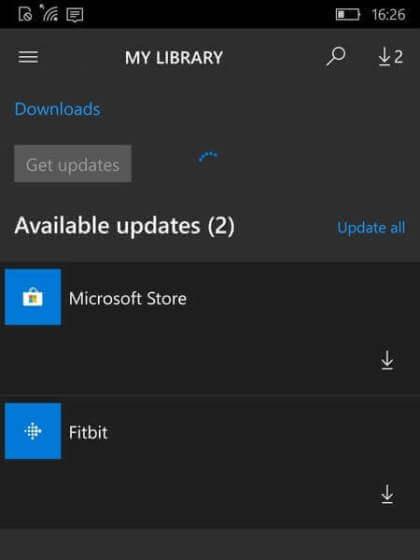 Windows 10 Mobile: Store-App hat viele Fehler
