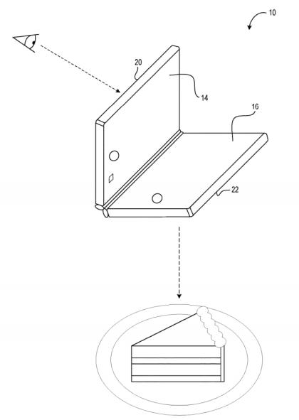 Microsoft Patente Dual Screen Andromeda November 2018