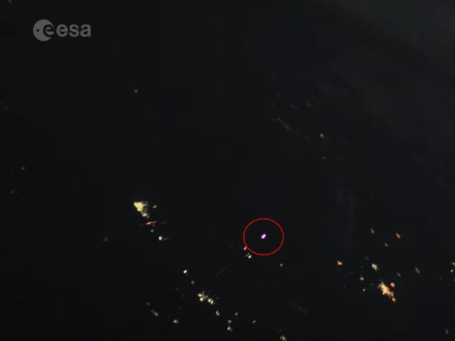 Raketenstart zur ISS