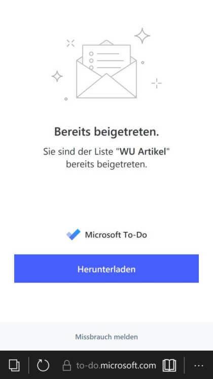 Windows 10 Mobile To-Do Fail