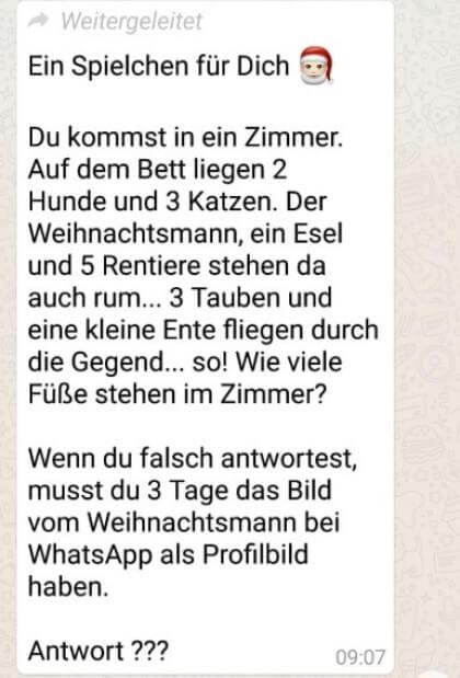 WhatsApp-Weihnachtsmann
