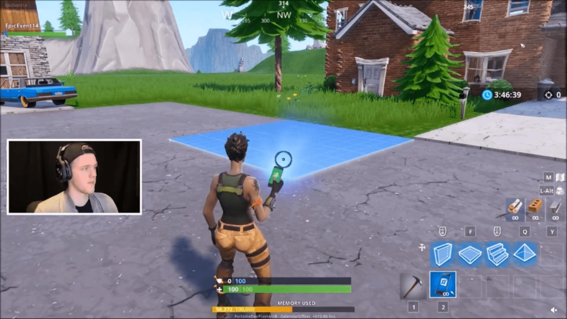 Fortnite Zum Selberbauen Neuer Spielmodus Im Stil Von Minecraft