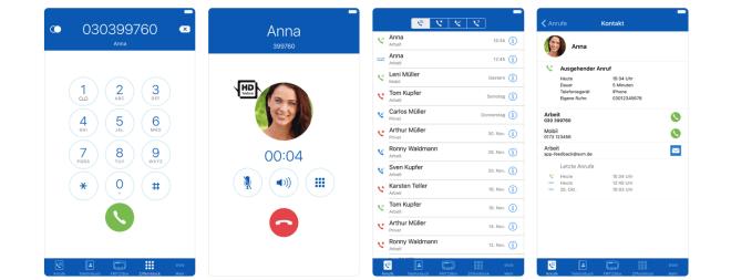 FritzApp Fon 4.0 für iOS