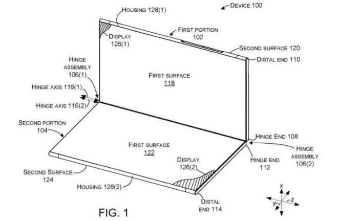 Microsoft Faltbares Smartphone