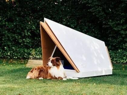 Ford: Noise-Cancelling-Hundehütte
