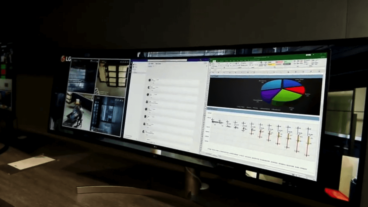 CES 2019 Hands-On: LG UltraWide 49 Zoll-Curved-Monitor ausprobiert