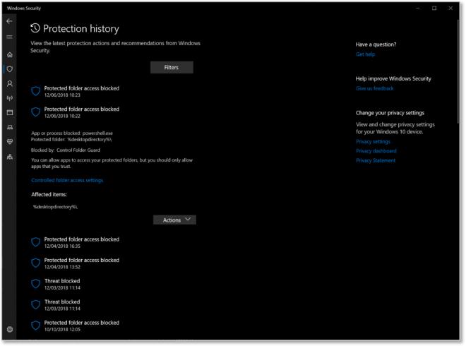 Windows 10 Build 18305 (19H1)