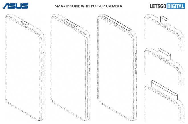 Asus: Designpatente für Smartphones ohne Notch