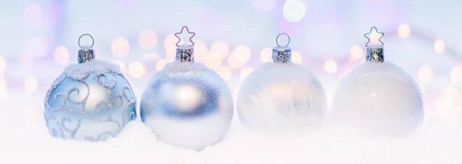Weihnachten: Kugeln