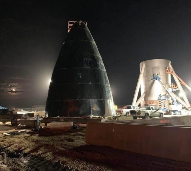 SpaceX Starship Prototyp
