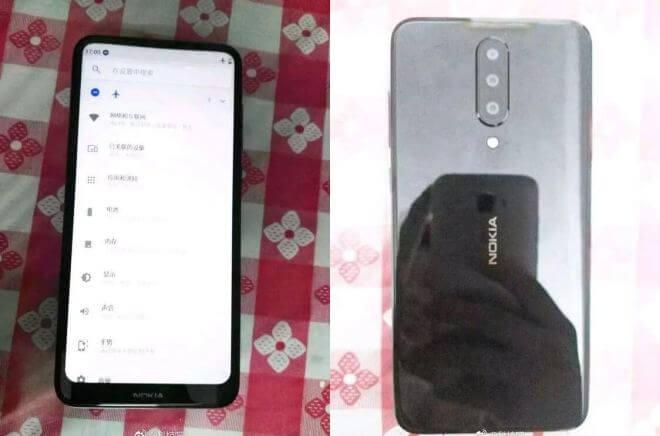Nokia-Smartphone mit Triple-Kamera