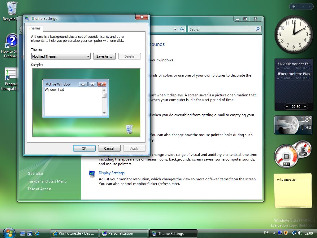 Windows Vista RC1 ist da - Download für Betatester