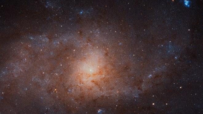 Hubble: Dreiecksgalaxie