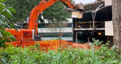 Microsoft: Abriss in Redmond geht los
