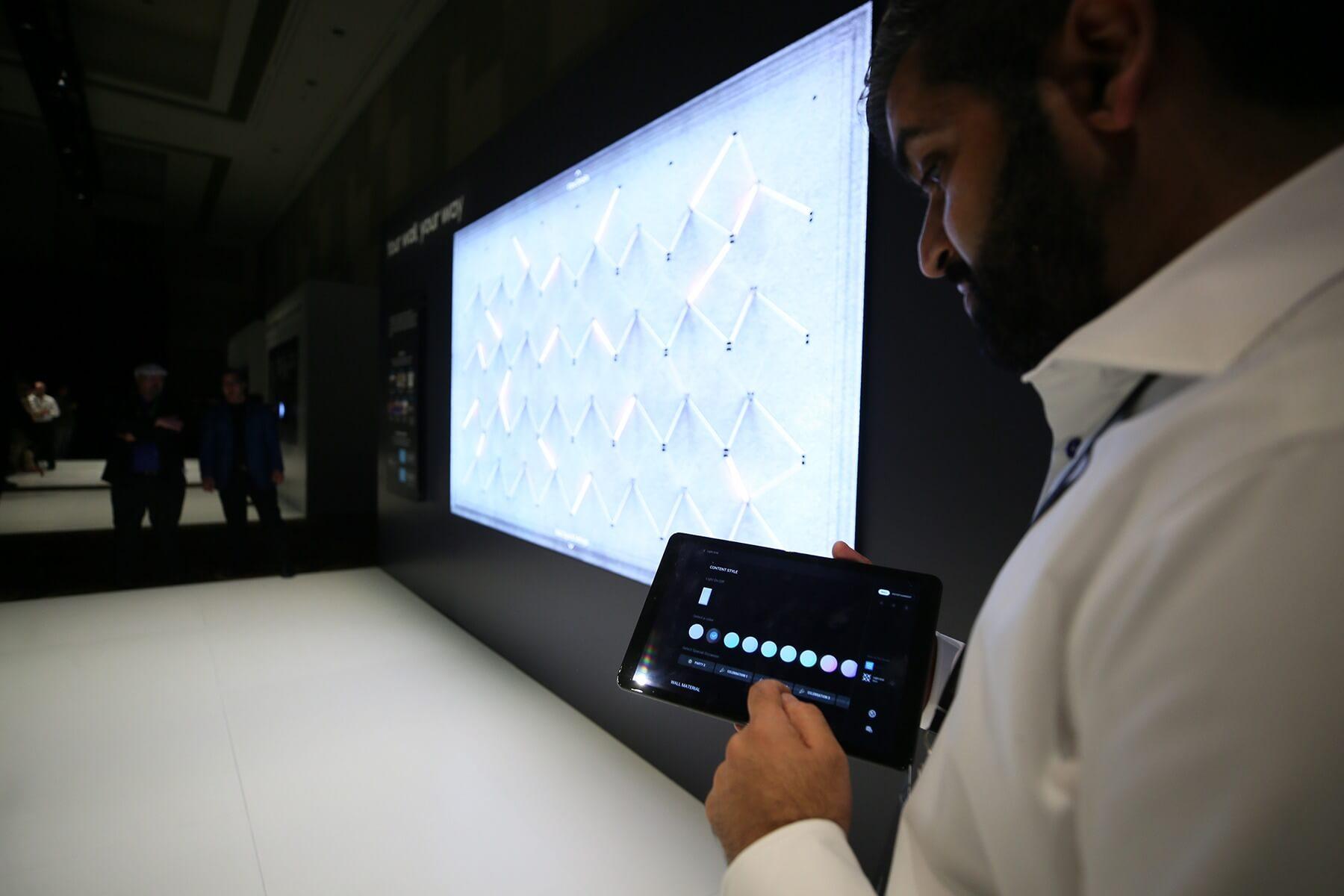 Samsung The Wall 219 Zoll