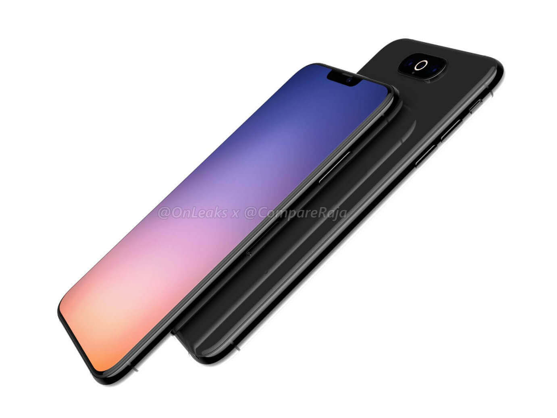 iPhone XI (2019): Render von CompareRaja & OnLeaks