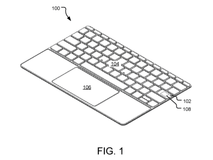 Microsoft Surface Keyboard 2019 Patent