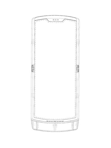 Motorola Razr: Patentantrag 2018