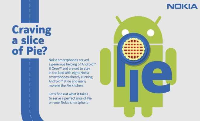 Nokia Roadmap - Updates Android 9