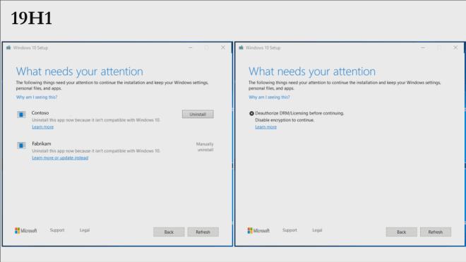 Windows 10 19H1 Setup-Verbesserungen
