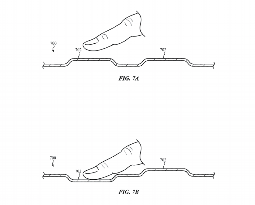 Patent Apple Glas-Tastatur