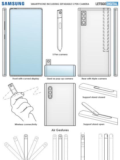 Samsungs S-Pen mit Kamera