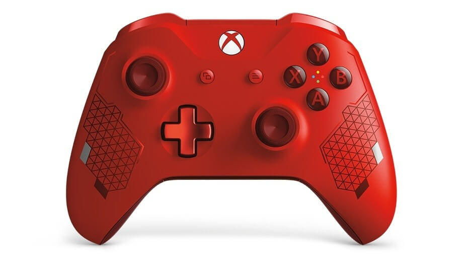Xbox Wireless Controller Sport Red Special Edition