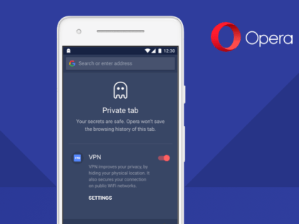 Opera Android App Beta VPN