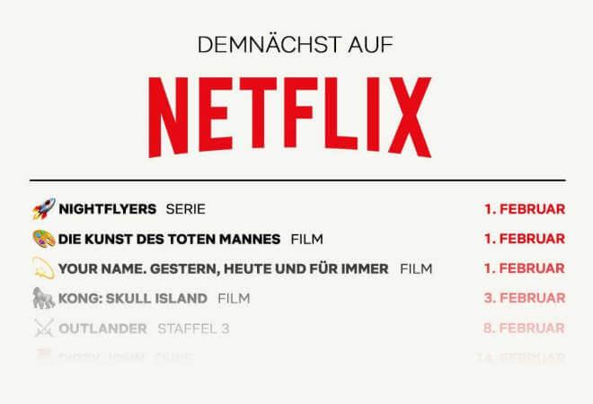 Demnächst bei Netflix: Die neuen Serien & Filme
