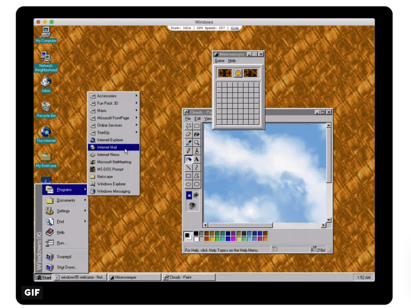 Windows 95-App für Windows 10 Download