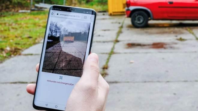 Vodafone nutzt EmergencyEye