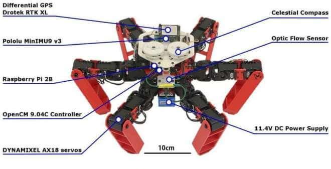 Antbot: Navigationsroboter