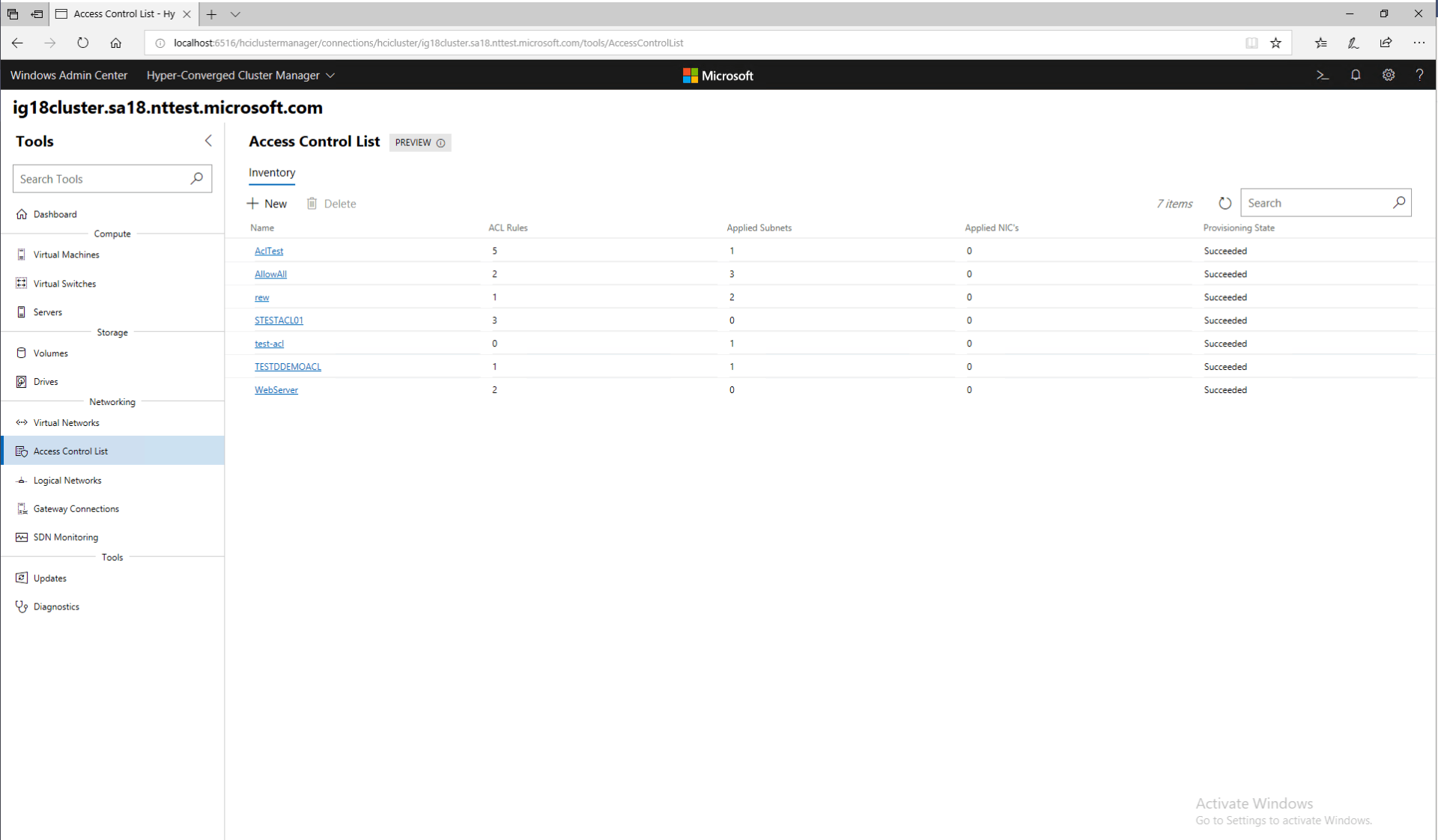 Windows Admin Center Preview 1902