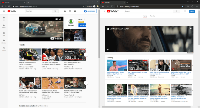 Microsoft Edge auf Chromium-Basis